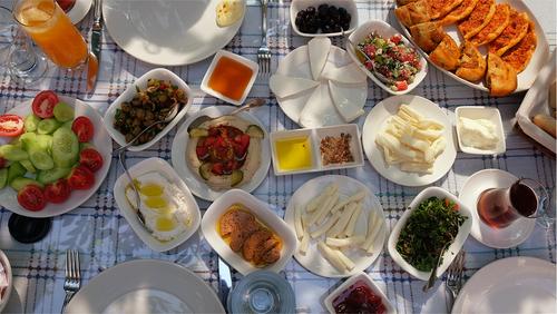 Antakya'da Kahvaltı