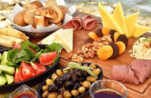 Breakfast in Fethiye