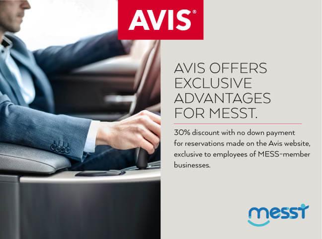 Avis Offers Exclusive Advantages For Messt !