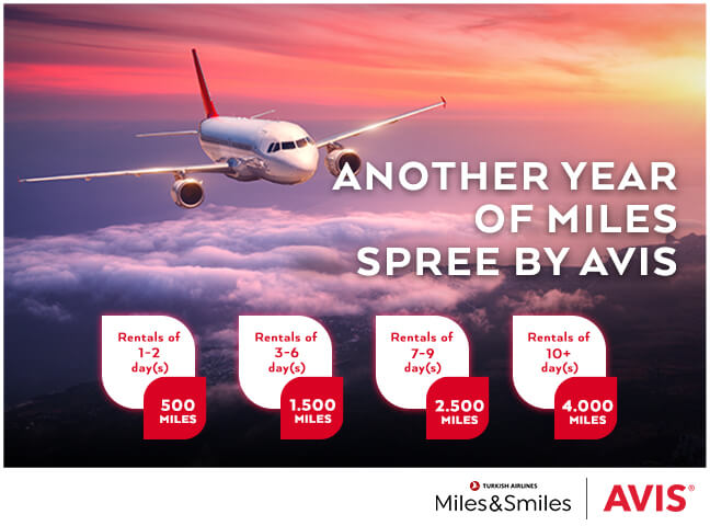 A Special Offer For Miles & Smiles Card Holders From Avis!