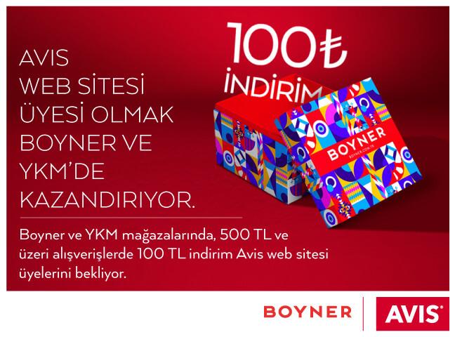 Avis Boyner Kampanyası