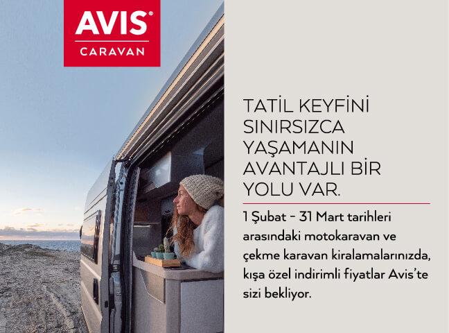 Avis Caravan ile Kışa Özel İndirimli Fiyatlar Sizi Bekliyor!