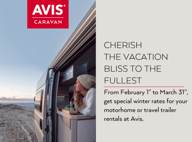Discounted Prices for Winter with Avis Caravan are waiting for you!